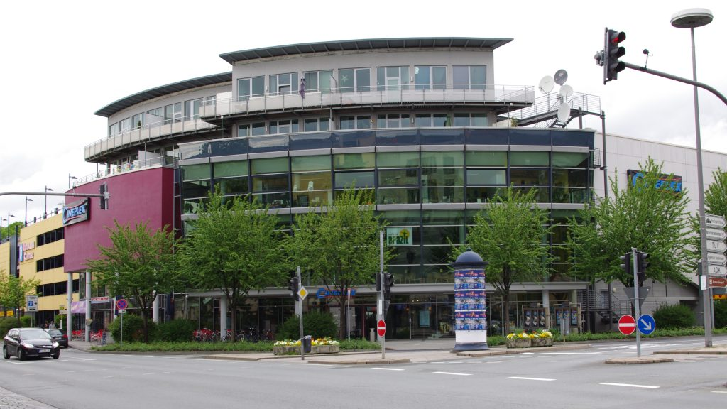 Cineplex Beyreuth, site of the attack. (photo: Wikimedia)