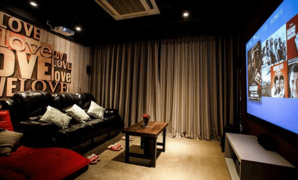 Private cinema remain popular in China.