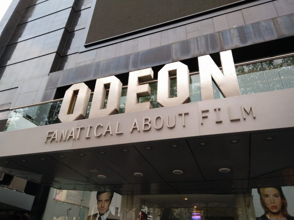 Odeon Leicester Square. (photo: Patrick von Sychowski - Celluloid Junkie)