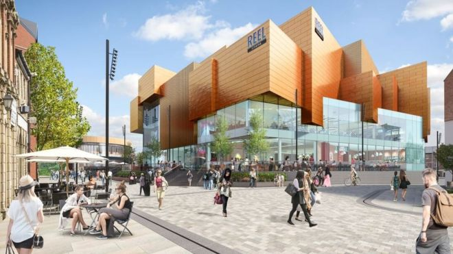 Reel Rochdale Riverside revealed. (photo:artist's impression / Genr8)