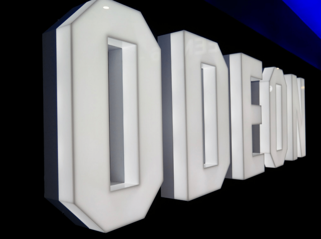 Odeon logo at Odeon Bournemouth. (photo: Martek)