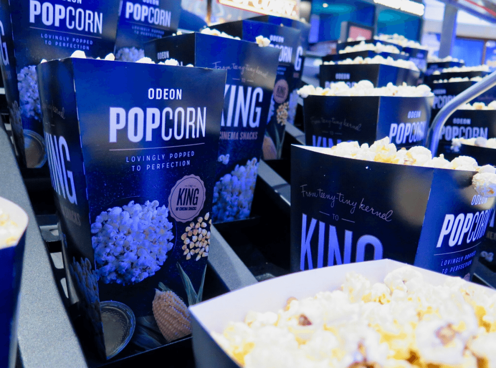 Popcorn in Odeon Bournemouth. (photo: Martek)
