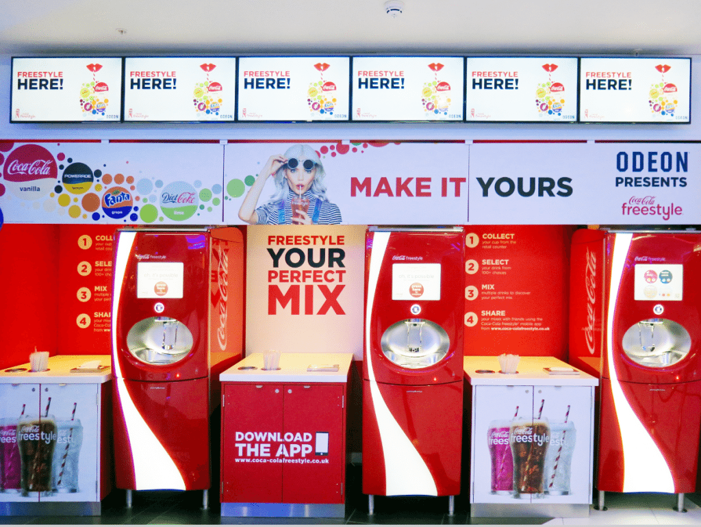 Coca-Cola Freestyle in Odeon Bournemouth (photo: Martek)