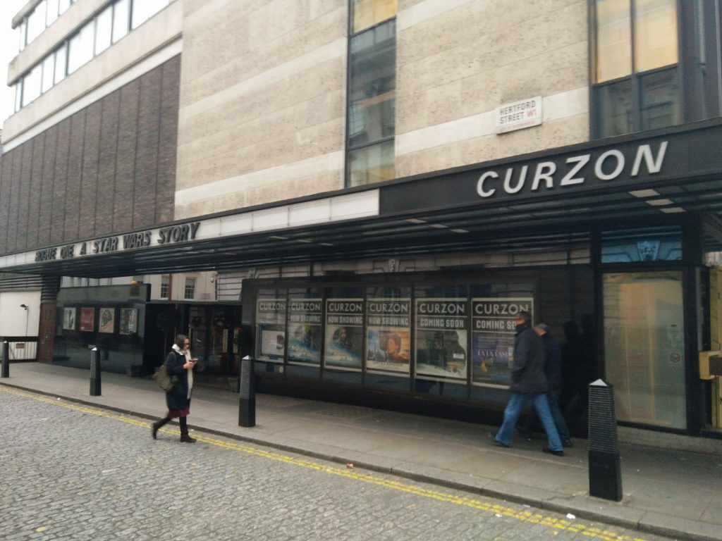 Curzon Mayfair - saved. (photo: Patrick von Sychowski - Celluloid Junkie)