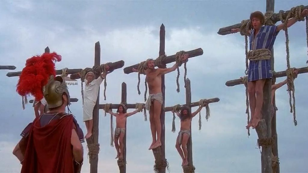 """""""I'm banned and so is my wife!"""" - 'Life of Brian'"""