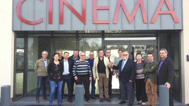La Couronne cinema opens. (photo: Ouest France)