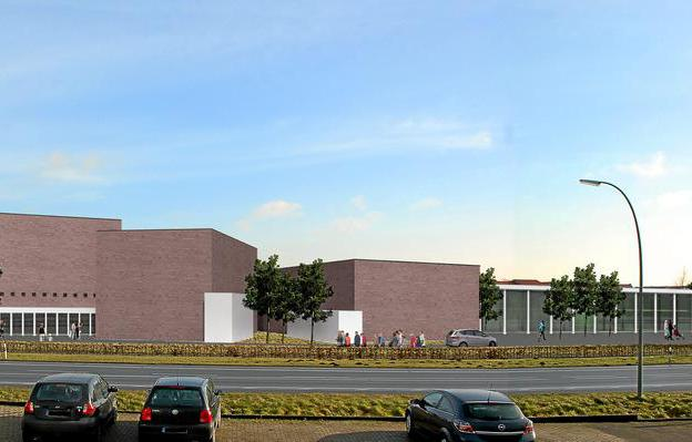 Cinema plans for Lüdinghausen. (image: artist's impression)