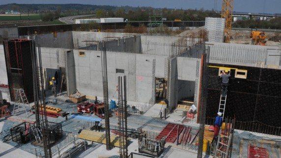 Meiningen Cineplex construction site. (image: Andreas Lode / Augsburger Allgemeine)