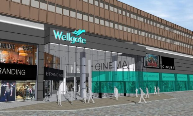 Wellgate brochure cinema plans. (image: artist's impression)