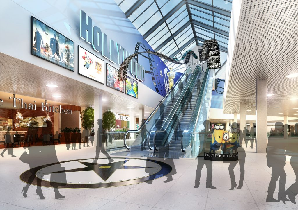Bon Accord cinema plans - from 20`4. (image: Threesixty Architecture)