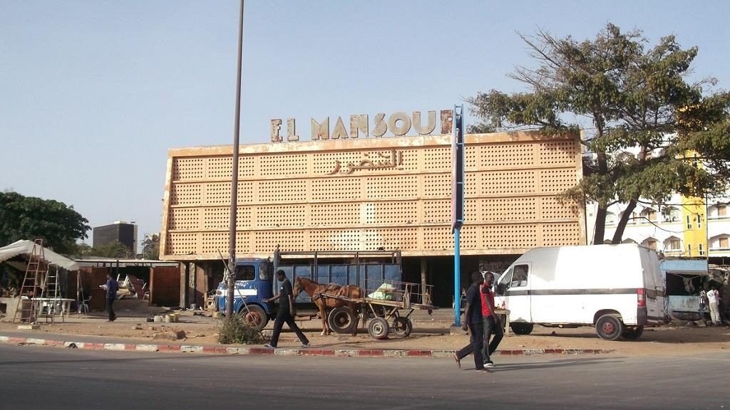 The closed Il Mansour cinema in Senegal. (photo: Burkina24)