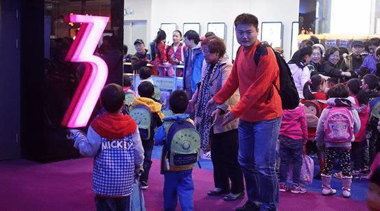 China cinema children