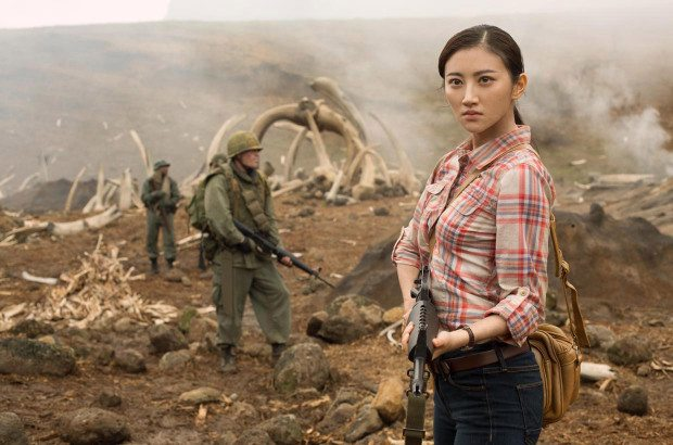 Tian Jing plays San in 'Kong: Skull Island.' (Warner Bros.)
