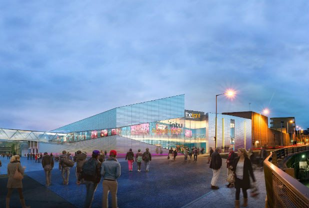 The Light in Intu Broadmarsh in Nottingham. (image: artist's impression)