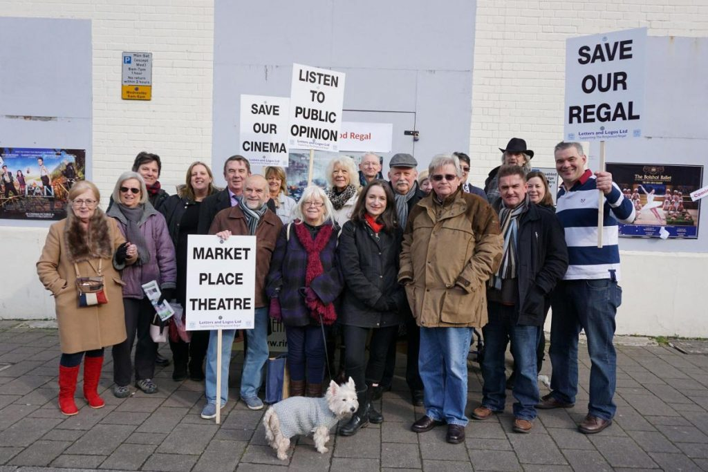 Save The Regal Cinema in Ringwood. (photo: Bournemouth Echo)