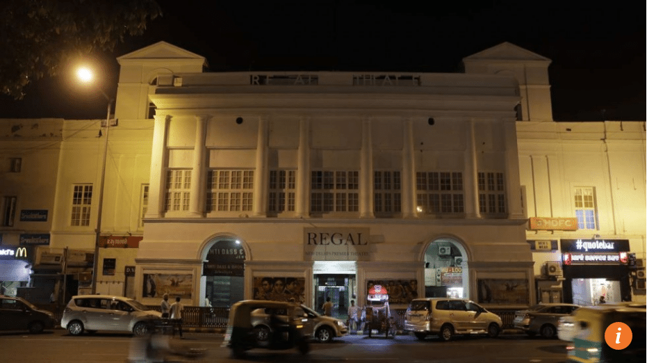 New Delhi's Regal cinema is closing. (photo: AP)
