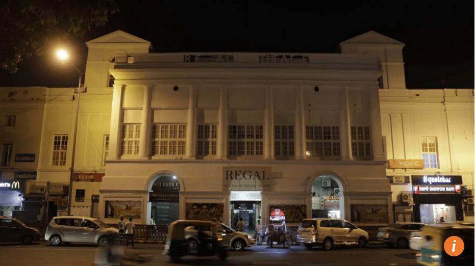 New Delhi's Regal cinema is closing. (photo: AP)