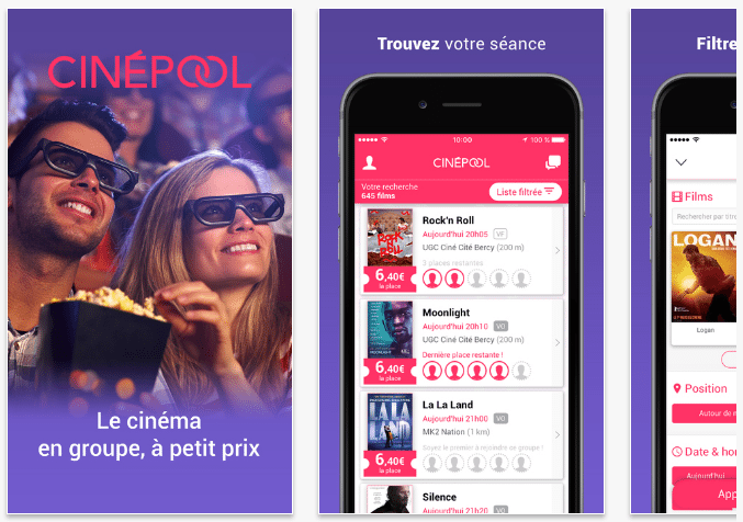 CinePool app (image: iTunes store)