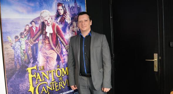 Benoist Gagé, the director of the CGR Bruay cinema. (photo: L'Avenir)
