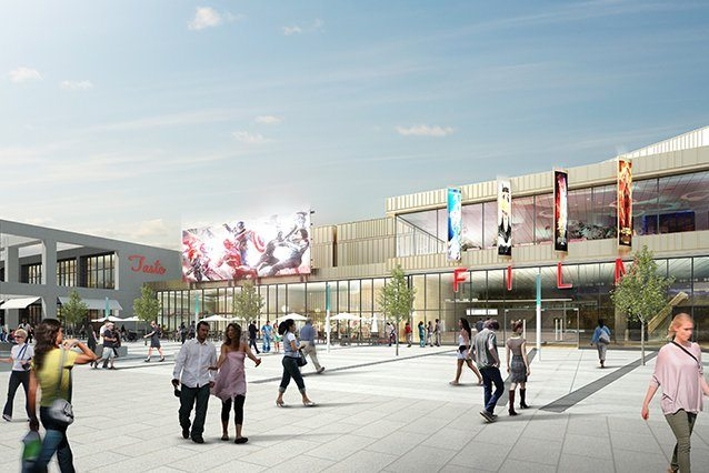 Wolverhampton's future multiplex. (image: artist's impression)