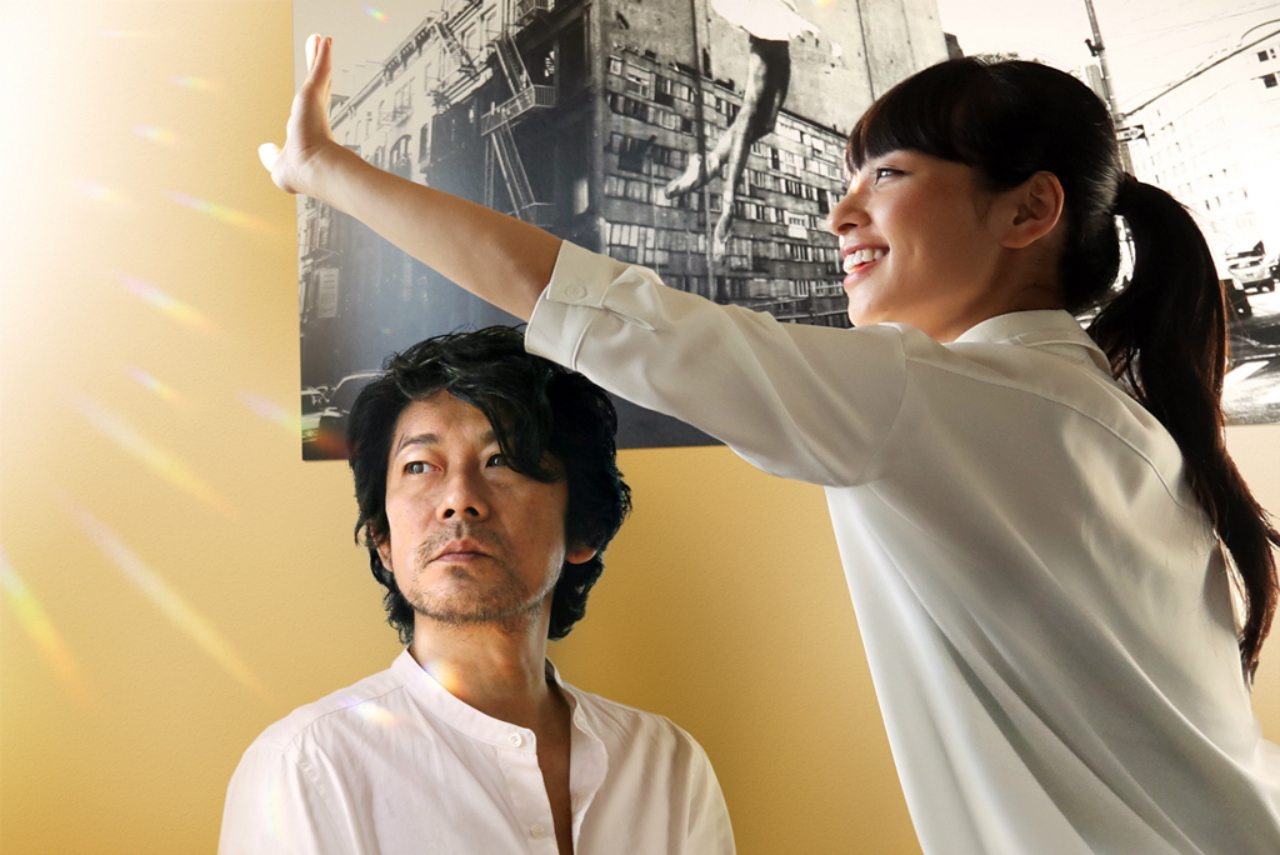 Masatoshi Nagase and Ayame Misaki in Naomi Kawase's Radiance