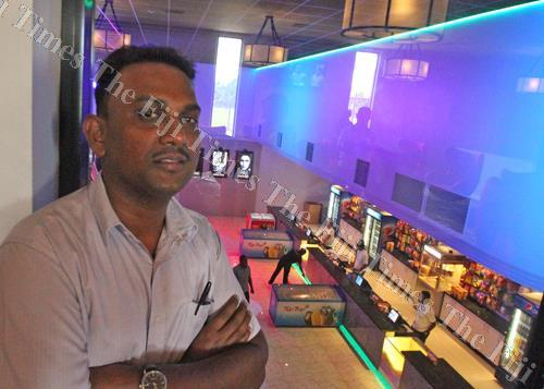New Life Cinema marketing manager Daniel Vikash. (photo: Jona Konataci / Fiji Times)
