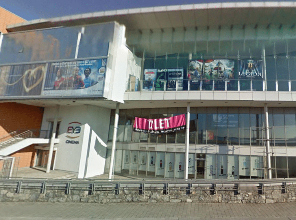 THe Award-winning Eye Cinema in Galway. (image: Google Earth)