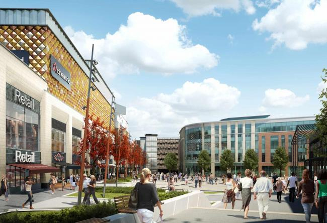 Cineworld, Times Square, Warrington. (image: artist's impression)
