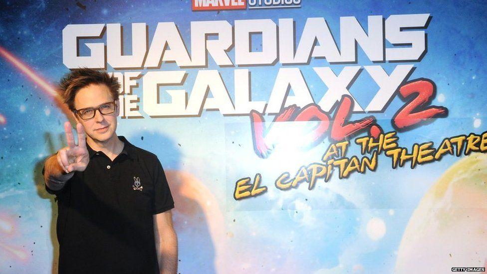 James Gunn, not a fan of smartphone use in cinemas. (photo: Getty)