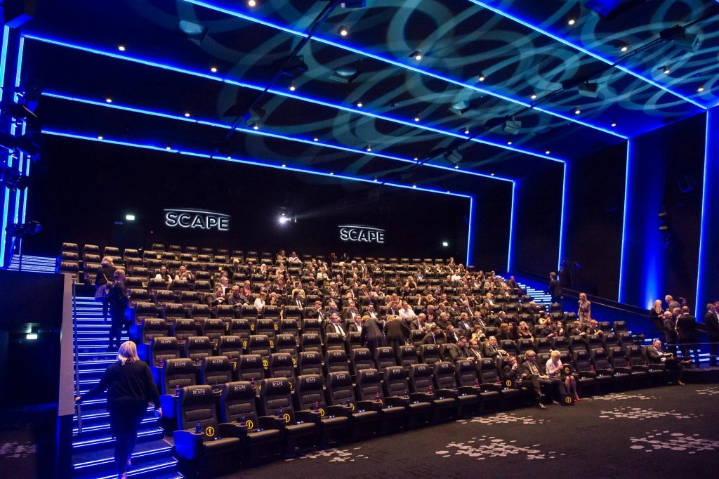 Finnkino's Scape with AS2 audio. (photo: Finnkino)
