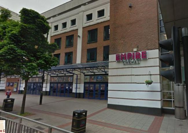 Empire Cinema Sutton. (image: Google Earth)