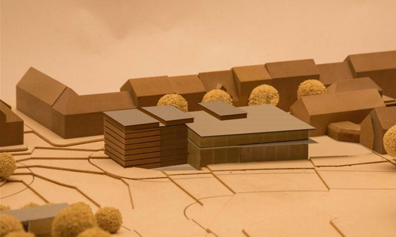 Plans for the luxury cinema. (image: Weber)