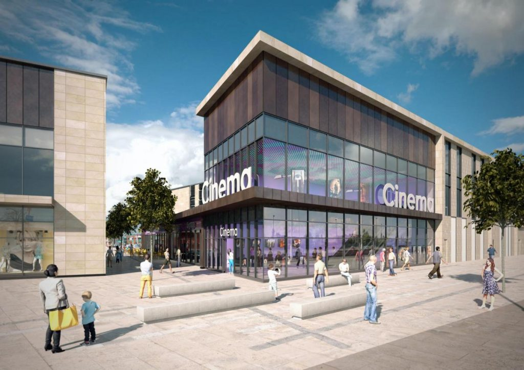 The planned Reel Cinema in Chorley. (image: artist's impression)