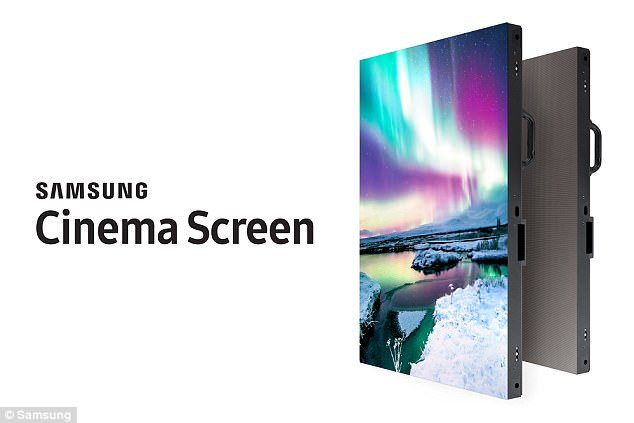 Samsung Cinema Screen module. (photo: Samsung)