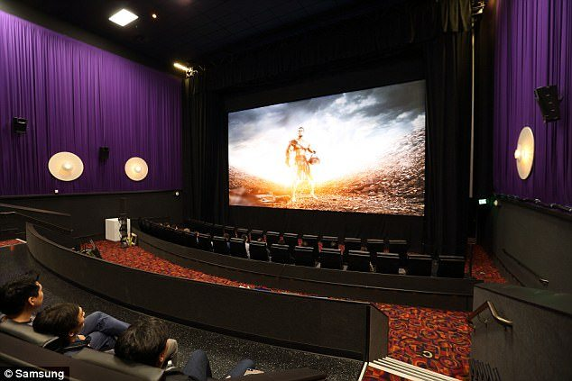 Samsung Cinema Screen. (photo: Samsung)