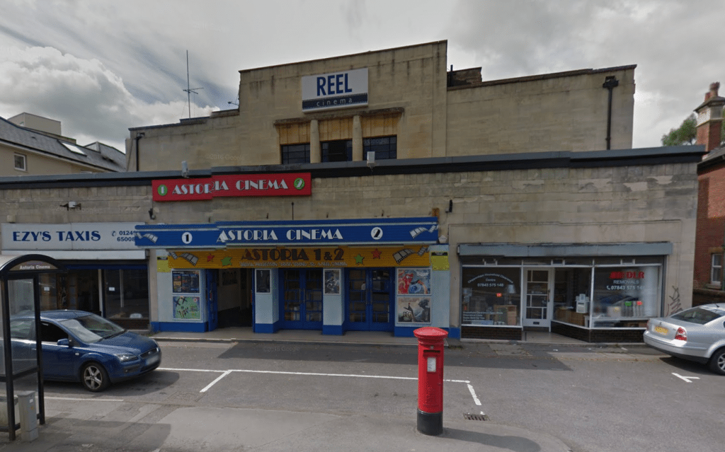 Reel Cinema Astoria Chippenham. (image: Google Earth)