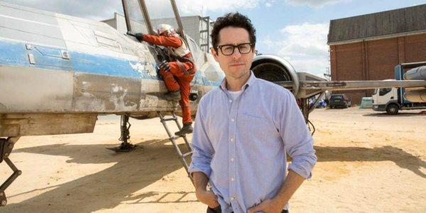 JJ Abrams on set. (photo: Disney/ Lucasfilm)