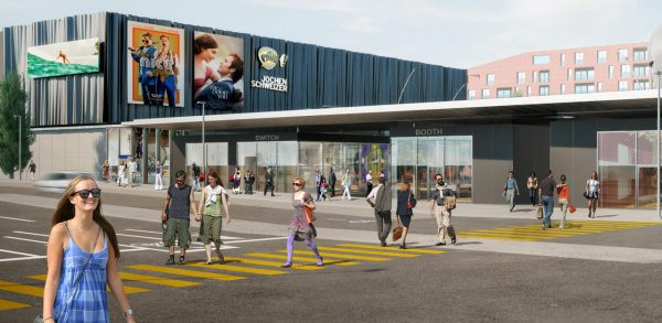 Mall of Switzerland - taxing prospects. (image: artist's impression)