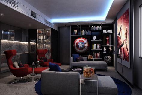 A room fit for a super hero. (image: Arabian Business)