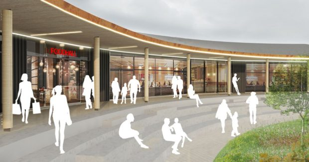 Cinema plans for Aberdeen's Blackdog. (image: artist's impression)