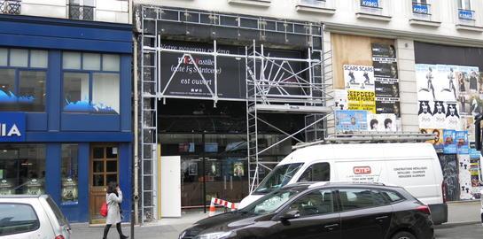 MK2 a repris et entierement renove le cinema Bastille qui a ferme en juillet 2015 rue du Faubourg Saint-Antoine. Ici Nathanael Karmitz, directeur general du groupe MK2