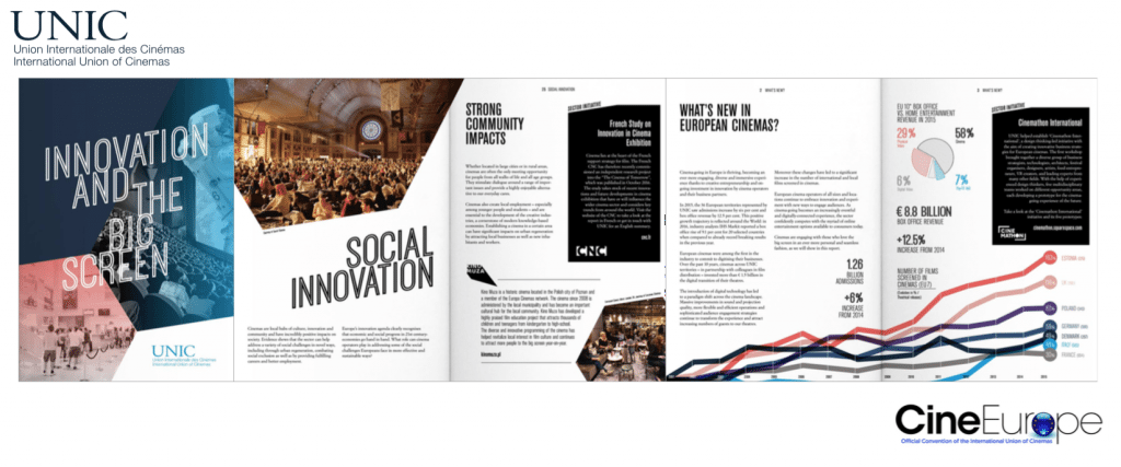 'Innovation and the Big Screen' (report extract by UNIC)