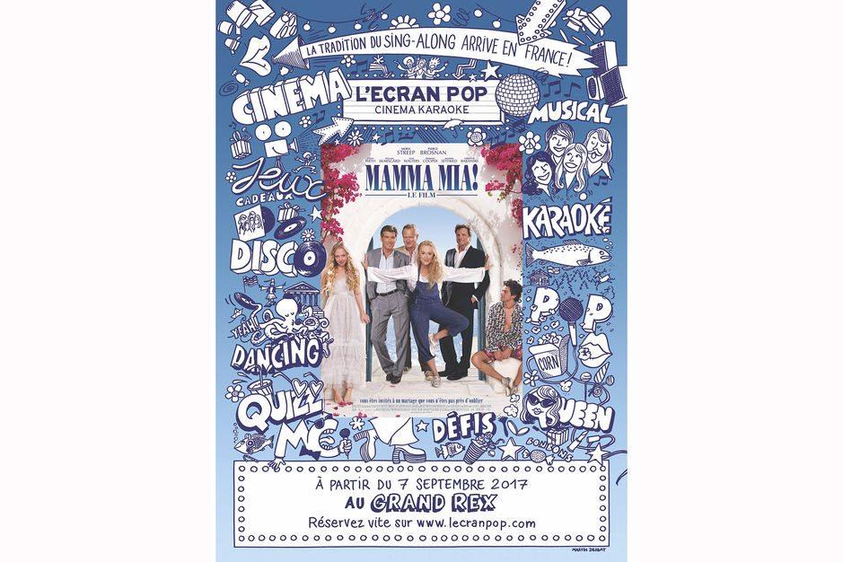 """L'Ecran Pop goes """"Mamma Mia!"""""""