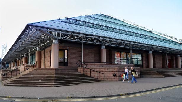 St Enoch Centre - 24 hour film people. (photo: GlasgowLive)