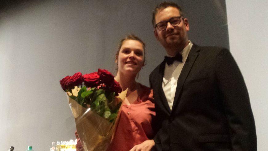 Romain, 31 ans, et Pauline, 27 ans, devraient se marier en 2019. (photo: Radio France / Maïwenn Lamy)