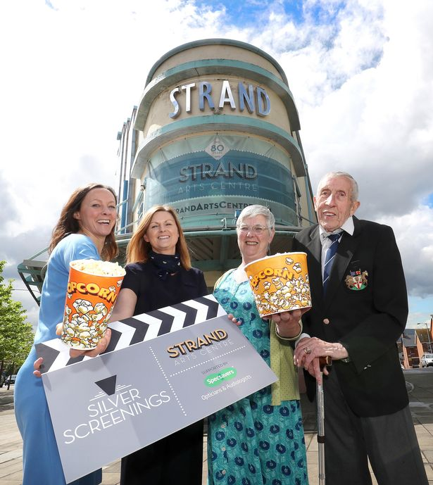 Silver Screen at Stran Arts Centre. (photo: Declan Roughan / Press Eye)