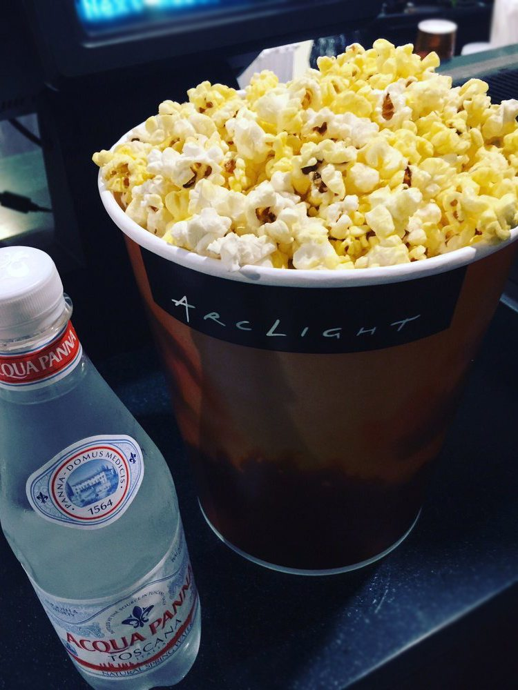 ArcLight Hollywood Popcorn