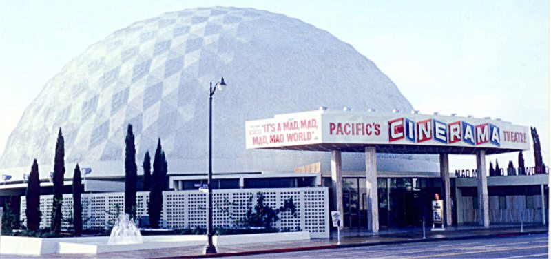 Cinerama Dome It's A Mad Mad Mad Mad World in 1964