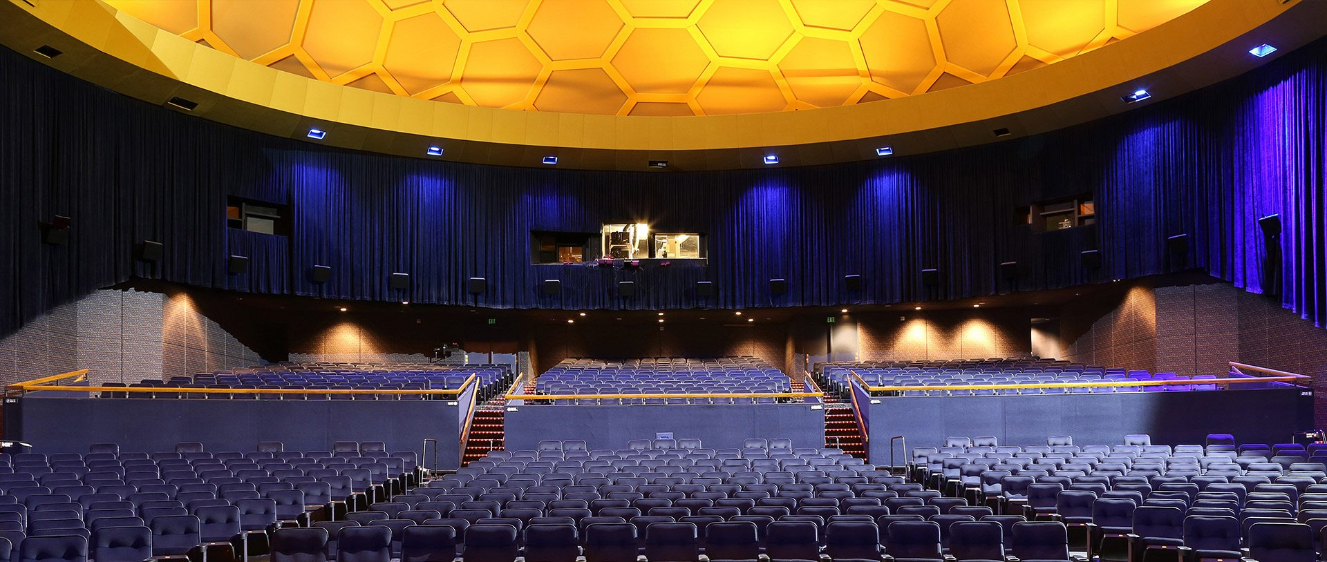 ArcLight Hollywood Cinerama Dome Seating and Projection Booth