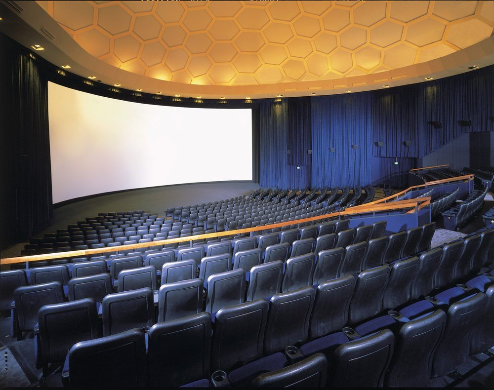 ArcLight Hollywood Cinerama Dome Interior Seating
